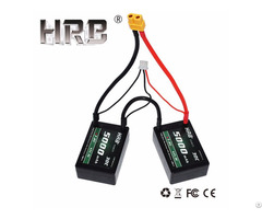 Hrb Rc Car Hard Case 2s 7 4v 5000mah 30c Battery Hardcase Roar B44