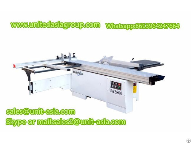 Ua2800 Sliding Table Panel Saw