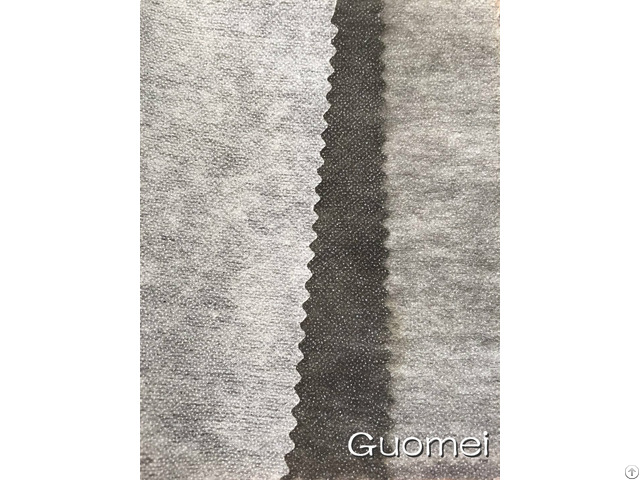 Woven Double Dot Fusible Interlining Garment Lining
