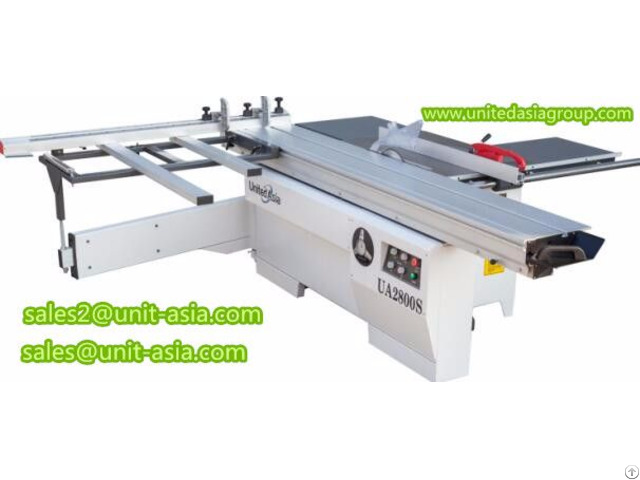 Ua2800s Sliding Table Panel Saw
