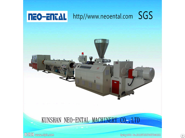 Automatic Plastic Making Machine For Pvc Pipe Production Line