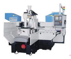 Twin Headed Cnc Milling Machine Th 520nc