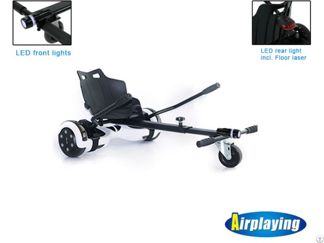Highlight Of Hoverkart With Front And Real Led Light Also Including The Floor Laser
