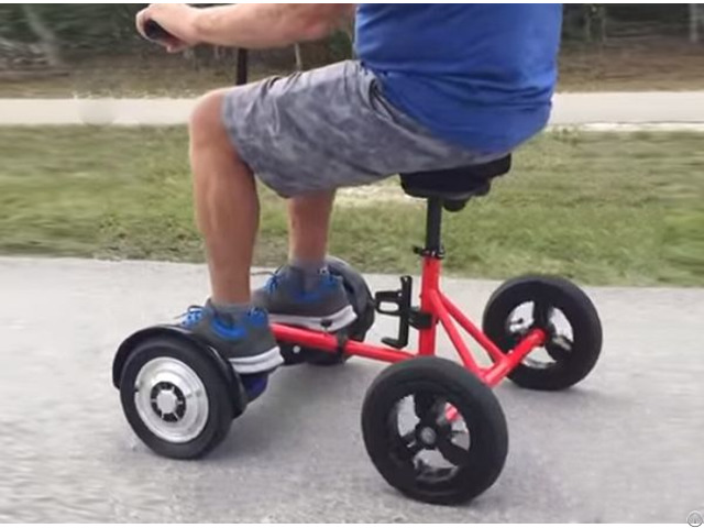 Hoverbike New Transportation Solution Using Hoverboard 6 5 8 10 Inch Hover Bike