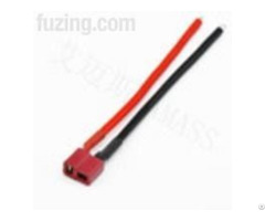 Amass 14awg Soft Silicone Wire With Female T Connector