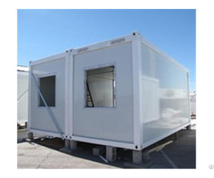 Mobile Container Prefabricated House With Toilet Fitment