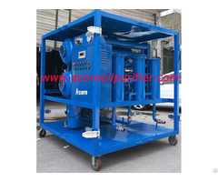 High Vacuum Dehydration Plant Of Transformer Oils