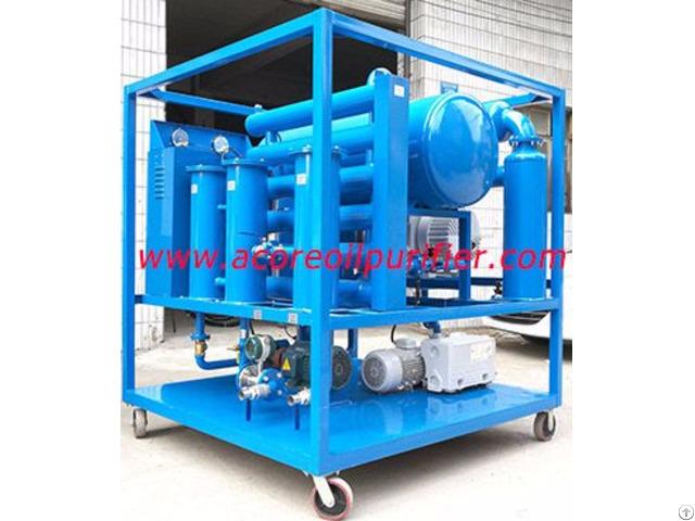 Mobile Transformer Oil Filtration Plant