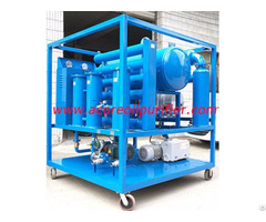 Mobile Transformer Oil Filtration Plant