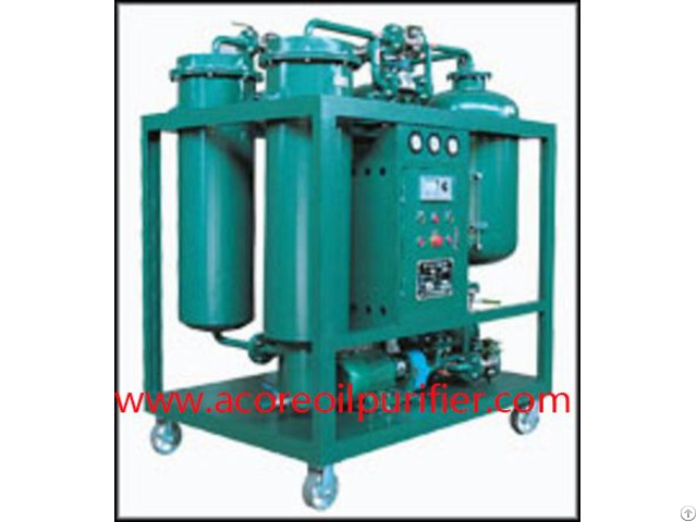 Power Turbine Lube Oil Purifier Machine