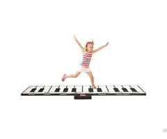 Gigantic Piano Mat Slw968 Black And White