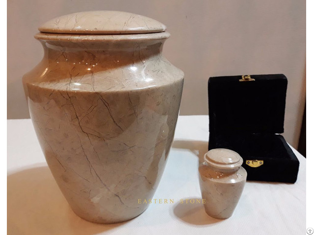 Natural Stone Pet Urns Ash Container Funeral Accessories