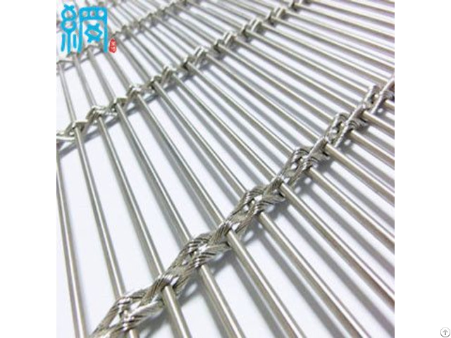 Decorative Architectural Wire Mesh For Interior And Exterior Applications