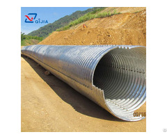 Galvanized Corrugated Metal Structure Pipe Culvert