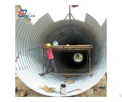 Corrugated Galvanized Steel Structure Pipe Culvert