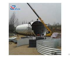 Large Diameter Corrugated Galvanized Steel Pipe For Tunnel Culverts
