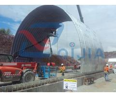 Semi Circle Corrugated Galvanized Steel Arch Culvert