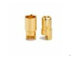 Gold Plated 6 0mm Bullet Connectors