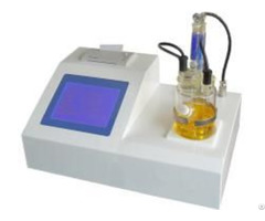 Fully Automatic Karl Fischer Water Content Tester