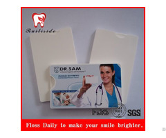 Promotion Credit Card Dental Floss