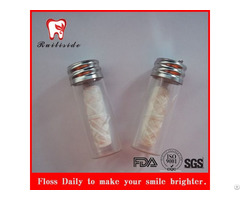 100% Silk Dental Floss With Bottle Container