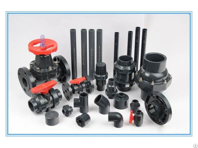 Upvc Cpvc Pph Pipe And Fitting