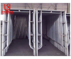 Pre Galvanized Scaffolding With Walk Board Brace