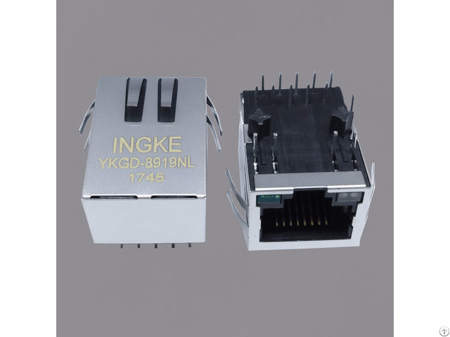 Si 61031 F 10 100 1000 Base T Rj45 Pcb Through Hole Modular Connectors