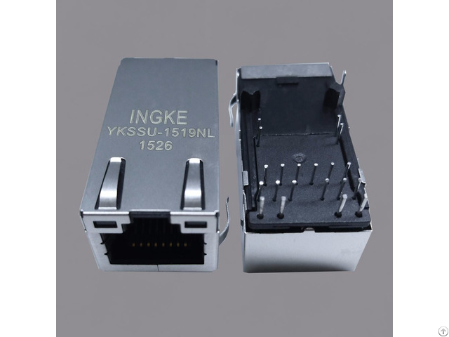 Ykssu 1519nl 2 5g Base T Power Over Ethernet Poe Rj45 Magjack Connectors