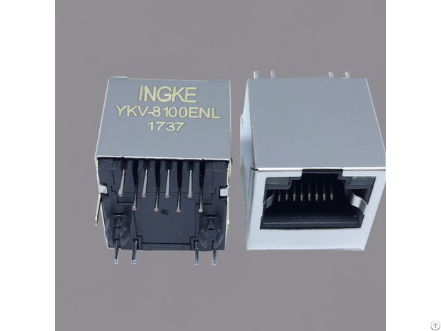 Ss 74301 002 Rj45 Ethernet Connector 8p8c