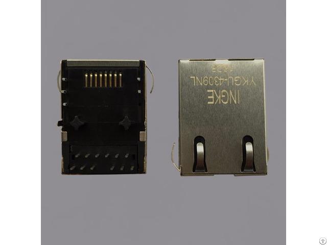 Trp Rj45 Jacks With Integrated Magnetics 1368398 2