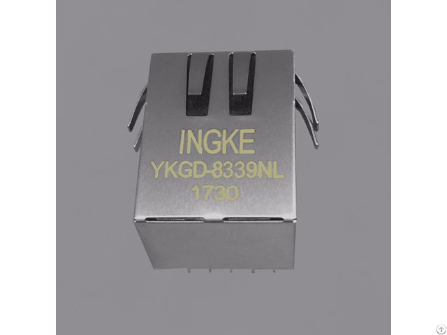 Rj45 Modular Jack Connectors 6605444 6 Trp 10 100 1000 Base T