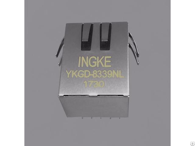 Bel 10 100 1000 Base T 2250022 4 Rj45 Magjack Connectors