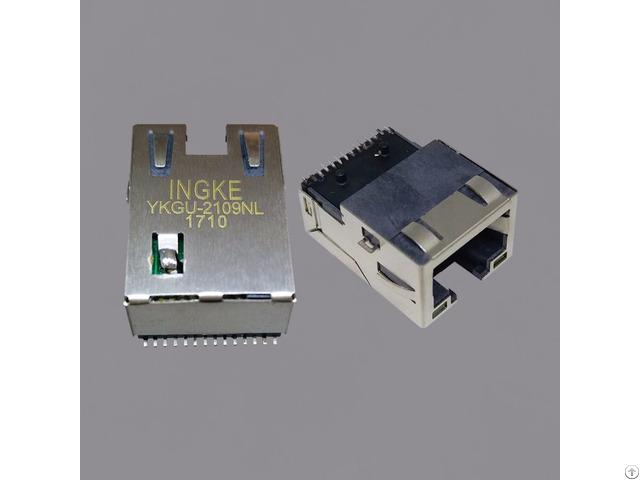 Mic38121 5356x Lf3 Gigabit Smt Rj45 Modular Jack Connectors