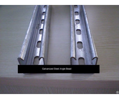Galvanized Steel Angle Bead