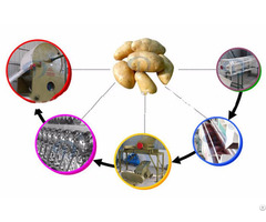 Potato Starch Manufacturing Plant