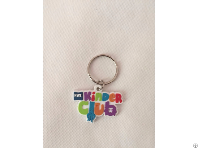 Soft Rubber Keychains