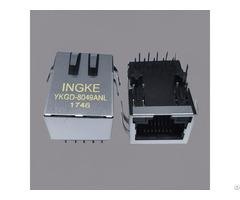 A60 113 331p432 Edac Through Hole Gigabit Rj45 Magnetic Jack Connector