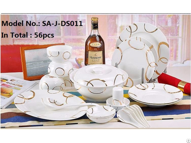 Porcelain Chinese Dinner Sets