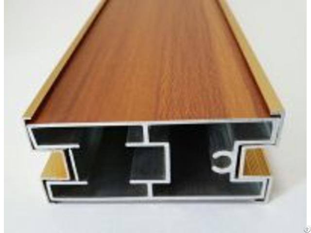 Aluminum Wooden Grain Profile