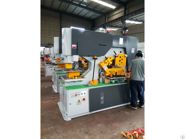 Multi Functional Iron Worker Q35y