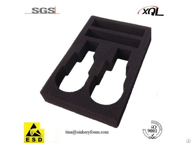 Carving The Black Eva Foam Hole Per Customer S Request