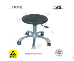 Black Pu Esd Cleanroom Chair