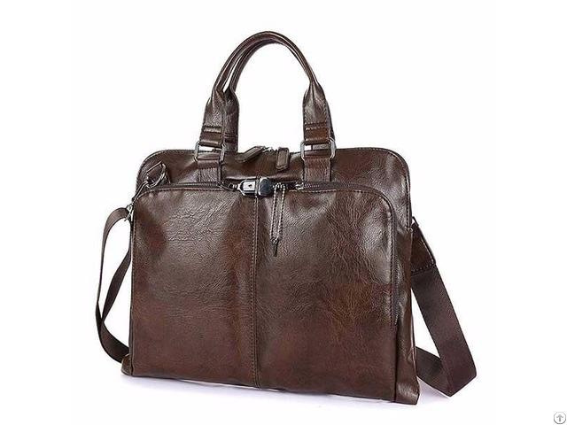 Bolo Business Briefcase Leather Men Bag