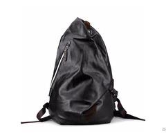 Black Male Waterproof Backpack