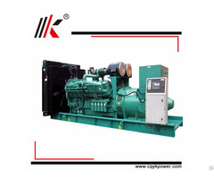 800kw 1000kva Cambodia Diesel Generator Dynamo With 12 Cylinders