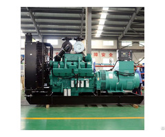 900kw 1125kva Diesel Alternator Generator In Chile With Kta38 G9 Engine