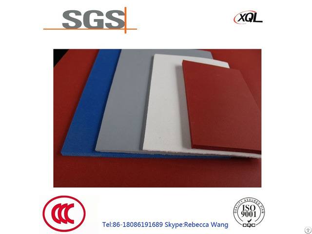 High Quality Molding Fire Retardant Silicone Foam Sheet