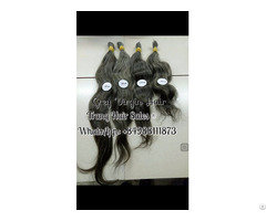 100% Gray Virgin Hair Best Wholesale Price