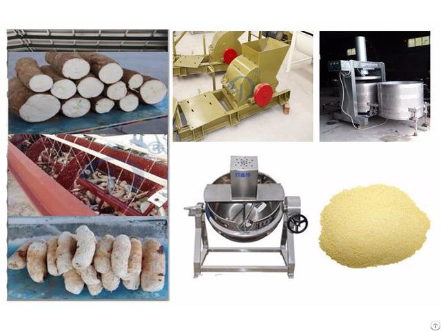 Cassava Peeling Machine Cutter